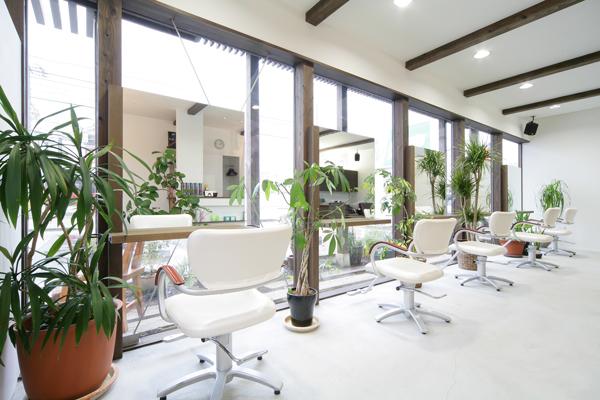 店舗付住宅:美容室ライスヘアーデザイン