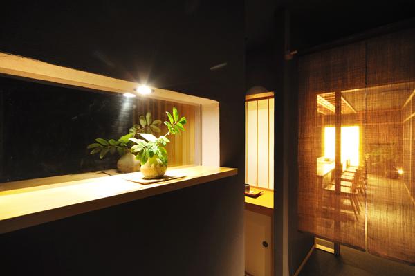 店舗改装(町家):六味一滴 石川 金沢 階段ホール