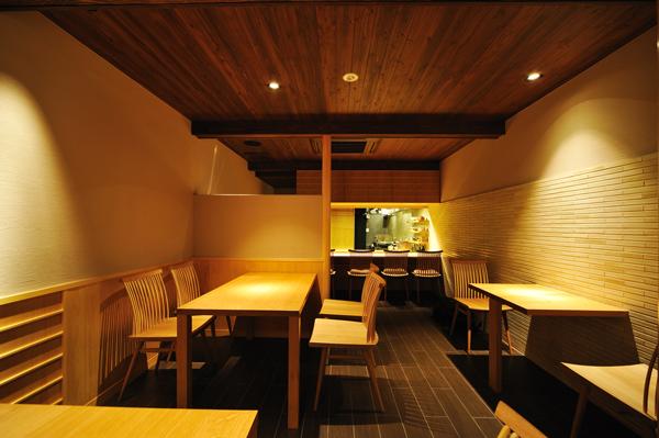 店舗改装(町家):六味一滴 石川 金沢 1階店内2