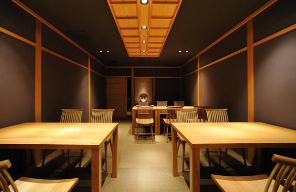 店舗改装(町家):六味一滴 石川 金沢 2階店内2
