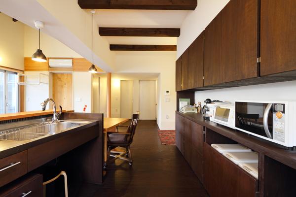 バリアフリー住宅 新築:考える家 石川 金沢 キッチン