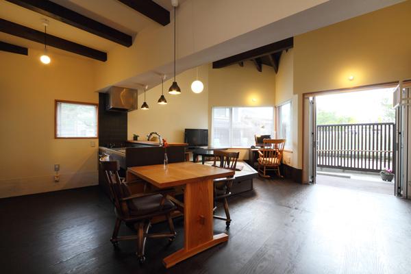 バリアフリー住宅 新築:考える家 石川 金沢 ダイニング