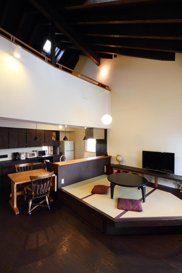バリアフリー住宅 新築:考える家 石川 金沢 リビング