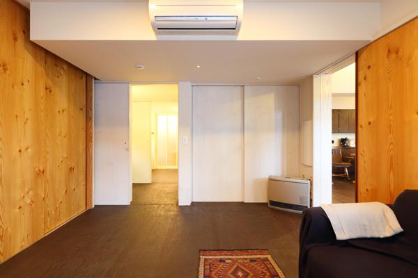 バリアフリー住宅 新築:考える家 石川 金沢 寝室