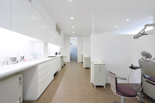 医院:なんぶ歯科クリニック 石川 金沢 診察室 プライバシー