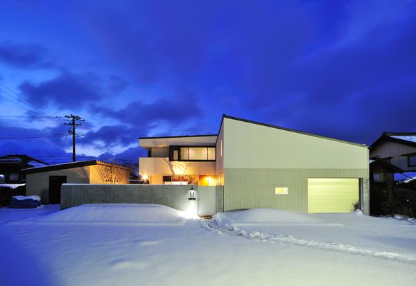 住宅設計 志賀の家外観